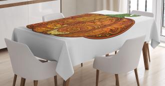 Ethnic Style Pumpkin Tablecloth
