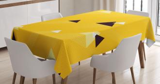 Triangles Retro Tablecloth