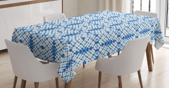 Ethnic Grunge Motif Tablecloth