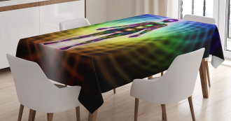Spirographic Energy Tablecloth