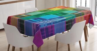 Plaid Art Pattern Tablecloth