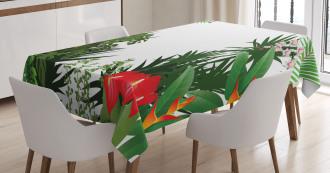 Rainforest Vegetation Tablecloth
