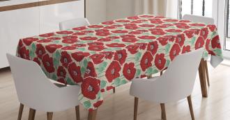 Spring Garden Artwork Tablecloth