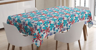 Branches and Little Birds Tablecloth