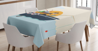 Fisher Man Hobby Tablecloth