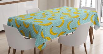 Banana Dots Tablecloth