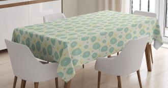 Dandelion Bloom Pattern Tablecloth