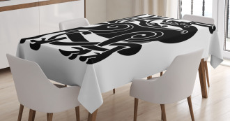 Samhain Celtic Deer Tablecloth