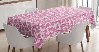Moire Outline Tablecloth