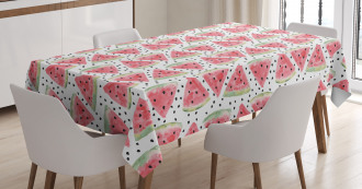 Triangle Slices Tablecloth