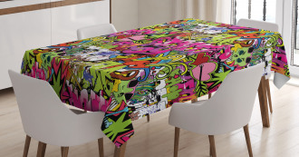 Pierced Hearts Tablecloth
