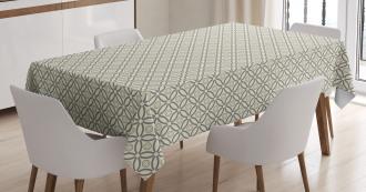 Primitive Latticework Tablecloth