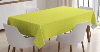 Abstract Juicy Lemons Tablecloth