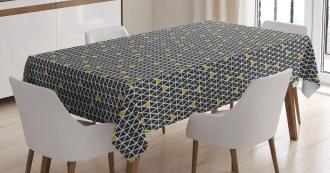 Simplistic Rhombus Tablecloth