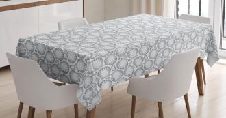 Pointilist Scallops Tablecloth