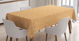 Moon Snails and Bubbles Tablecloth