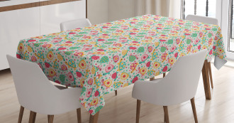 Pre-School Theme Turtles Tablecloth