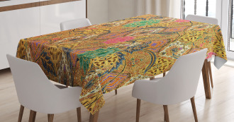Traditional Malaysian Tablecloth