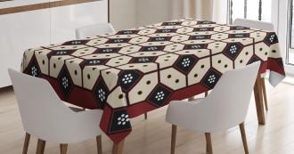 Javanese Batik Pattern Tablecloth