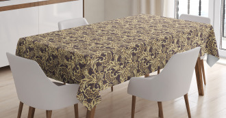 Arabic Traditional Floral Tablecloth