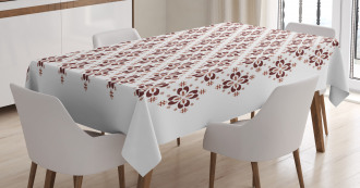 Indonesian Native Tile Tablecloth