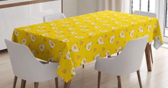 Dots Chicken Haystack Tablecloth