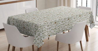 Summery Flying Birds Tablecloth