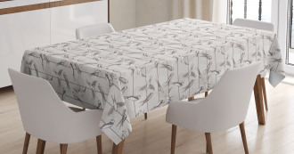 Red-Rumped Swallow Bird Tablecloth