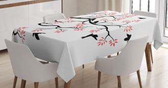 Mockingbird on Plane Tree Tablecloth