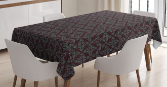 Abstract Baroque Tablecloth