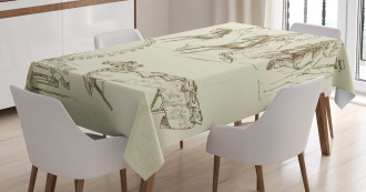 Merry Go Round Tablecloth