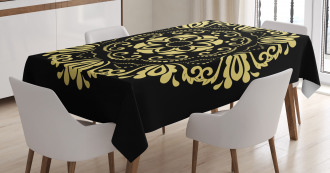 Stylized Frame Tablecloth