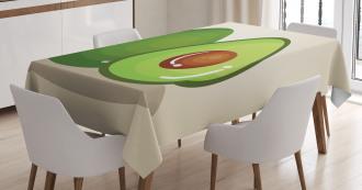 Organic Freshness Theme Tablecloth