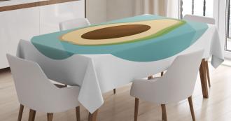 Raw Delicious Avocado Tablecloth