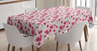 Summer Poppies Tablecloth
