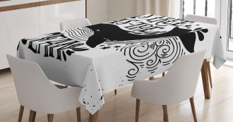As Free As the Oceans Tablecloth