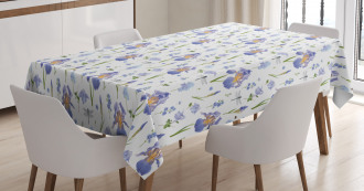 Dragonfly Romance Nature Tablecloth