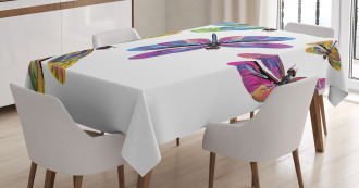 Sixties Style Animals Tablecloth