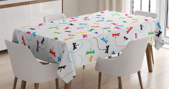 Spring Wildlife Motif Tablecloth