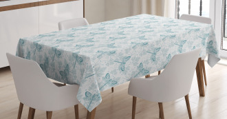 Parsley Leaves Bugs Tablecloth