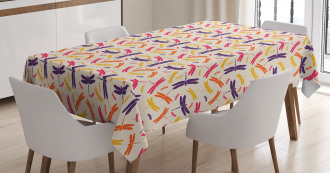 Colorful Spring Wildlife Tablecloth