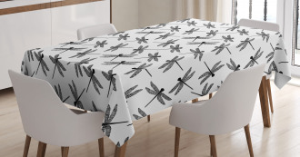 Sketch Wings Tablecloth