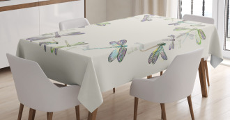 Forest Animals Circle Tablecloth