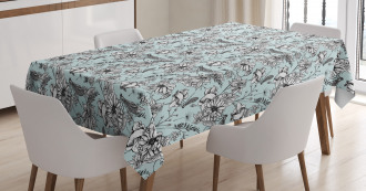 Bugs and Daises Tablecloth