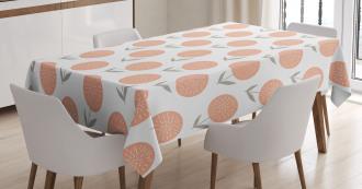 Pastel Floral Spring Tablecloth
