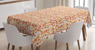 Fall Nature Blossoms Tablecloth
