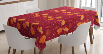Blossoming Twigs Buds Tablecloth