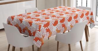 Lily Zen Garden Tablecloth