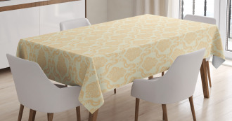 Classical Floral Pastel Tablecloth