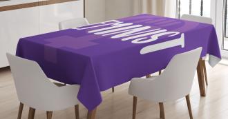 Venus Symbol Women Tablecloth